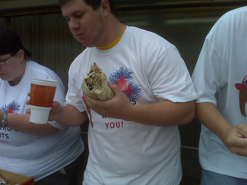 Coralville Eating Contest