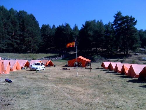 Campa verano 2009 - Vista general de la acampada