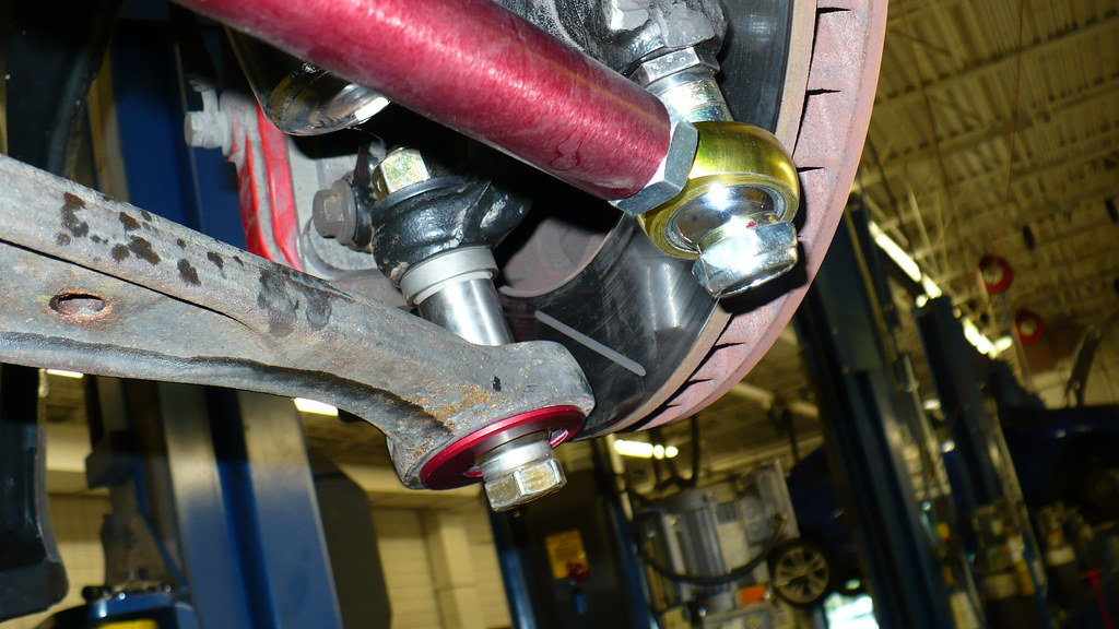 Roll Center Adjustable Arms And Bumb Steer Kit E36