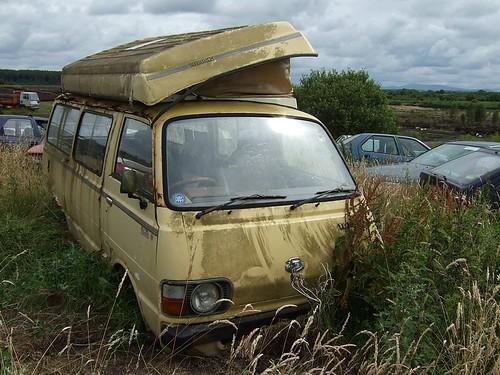 Old Hiace Camper Van