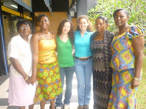 Vital Voices Global Partnership Training in Cameroon