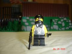 Standard Merc (Chuddernaut) Tags: army lego mercenaries brickarms