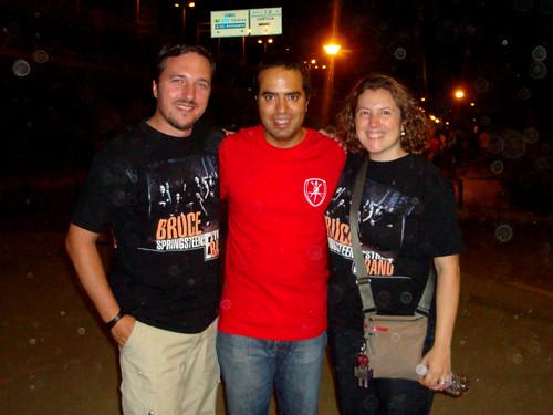 Sevilla Springsteen 14 Jordi, Nacho e Itziar una vez más