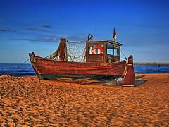 20090728 Usedom Ahlbeck Strand Schiff Kutter (2) (j.ardin) Tags: sea color beach strand see ship balticsea baltic farbe ostsee schiff cutter usedom kutter ahlbeck ultimateshot flickraward goldstaraward