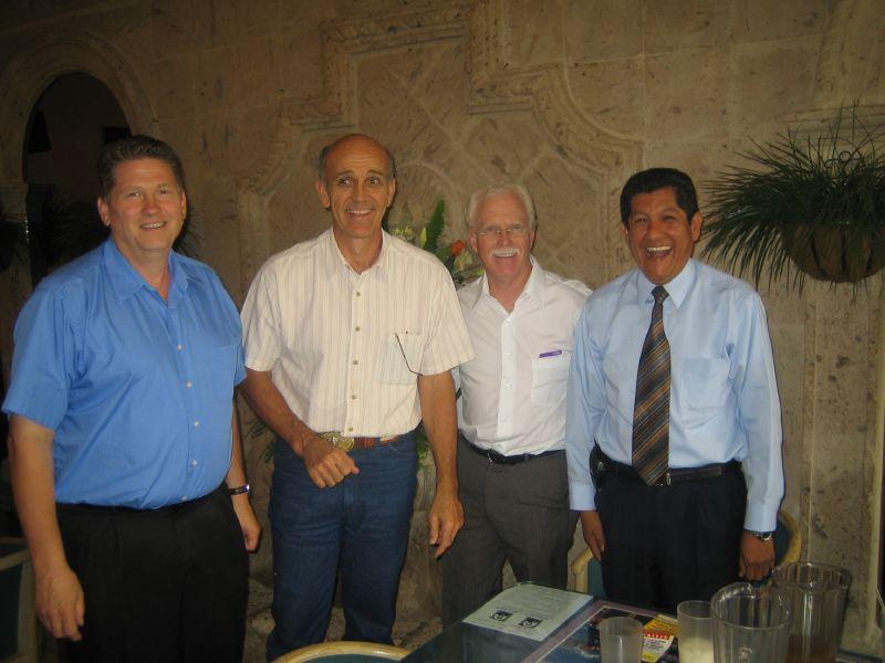 Meeting Pastor Perez