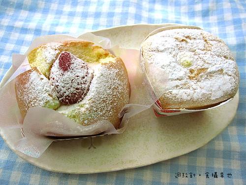 4H House 草莓蛋糕與北海道牛奶蛋糕