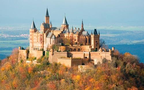 フリー画像| 人工風景| 建造物/建築物| 城/宮殿| ホーエンツォレルン城| ドイツ風景|      フリー素材|