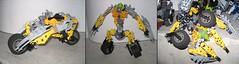 LEGO Devastator Right Arm - Sideways (Reventist) Tags: lego transformers bionicle mecha