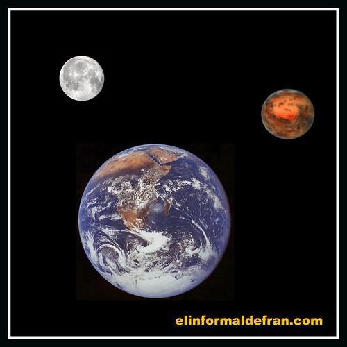 Dos Lunas en el mes de Agosto