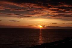 Just another cliche (warpig corp) Tags: morning sea cloud clouds sunrise dawn redsky sunbeam cliche irishsea redskies llandulas sunriseoversea