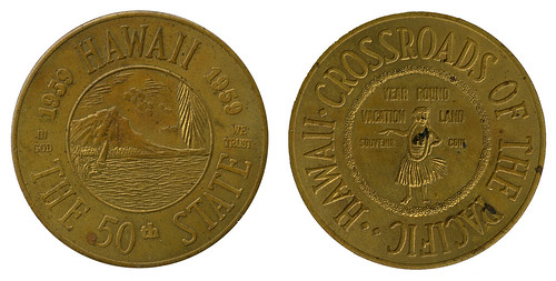Hawaii 50th State coin_tatteredandlost