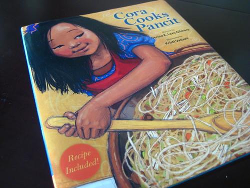 Cora Cooks Pancit.