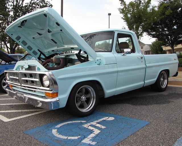 ford 1971 ranger pickup f100 hotrod custom effie fordtruck fordpickup 2000views sportcustom 71ford 71fordpickup