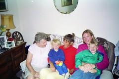 930720 Family (rona.h) Tags: july 1993 cacique canaldumidi teignmouth ronah