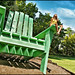 saint paul big green chair