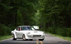 Eric's Widebody 260Z (John Renna) Tags: work bride oldschool turbo flush stretched falken slammed stance boost widebody apexi autometer rb25 strobist datsun260z canonxsi