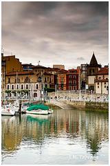 Asturias 2009 - Gijn. (Jos Manuel Fotografa) Tags: sea espaa beach water canon eos mar spain agua asturias playa gijon tratamiento zonas asturies 40d