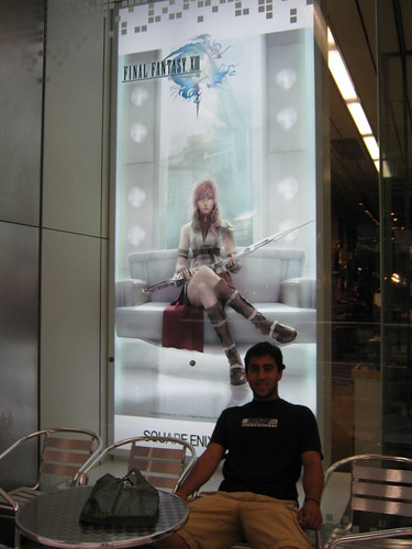 A picture of Lightening from the upcoming FF XIII. I thnk Daves in the picture too.