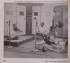 Menuhin, Rakha, Shankar, American Record Guide...