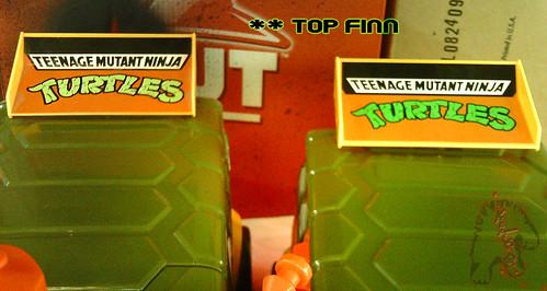 The tOkKa junkyard Car Show :: Classic Party Wagon vs. TMNT 25 Reissue // Top Finn ( Spoiler )