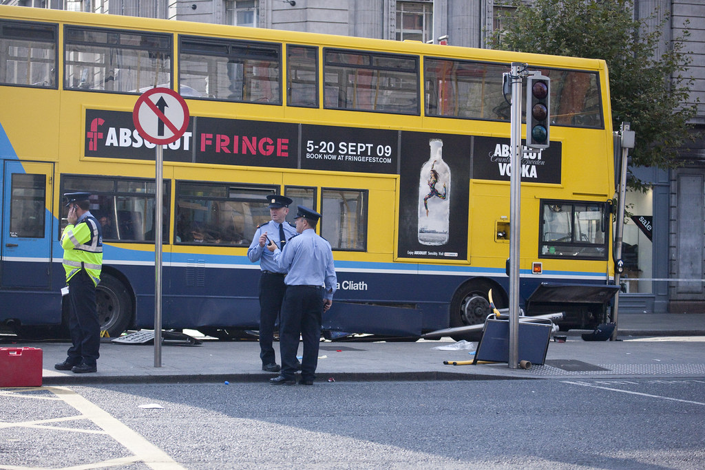 No. 16 Bus Hit By Luas Tram