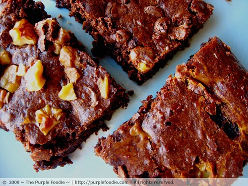 Super Rich, Fudgy, Gooey, Intensely Chocolatey Baked Brownies