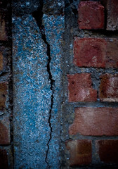cracks in the bluish wall... (14/50) (boboD90) Tags: autumn interesting nikon 5050 ipswich 50mmf18 d90 project50 unconvetional
