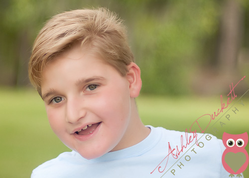 Meet my brother ? Fayetteville NC Special Needs Child Photographer