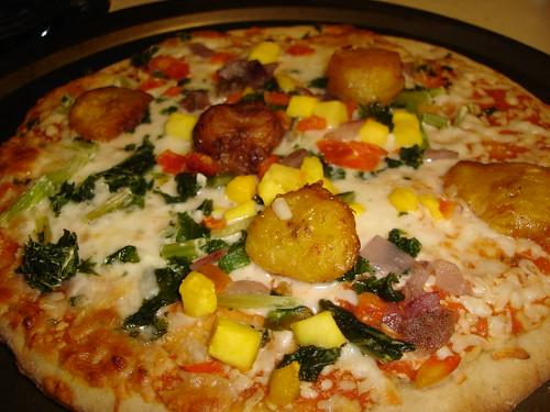 Kashi Caribbean Carnival Pizza