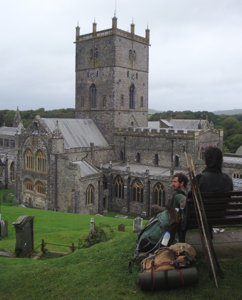 in St Davids, between rains...