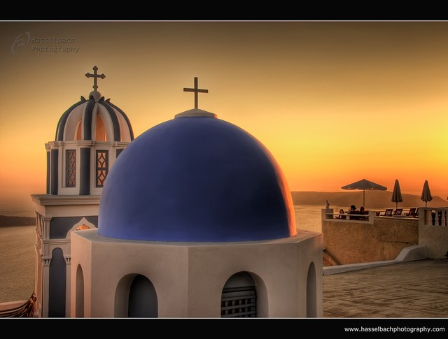 Santorini ~ Orange Sunset ~ Greece