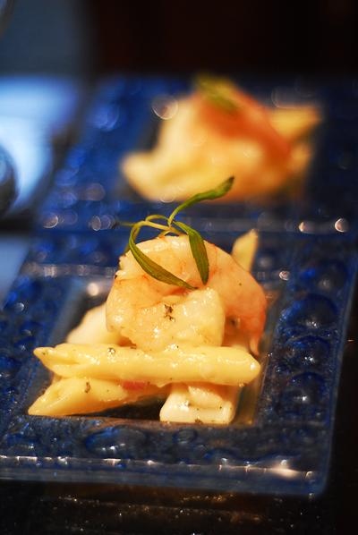 Shrimp Shot Pasta