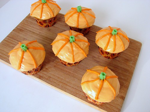 MSC Pumpkin Patch Cupcakes
