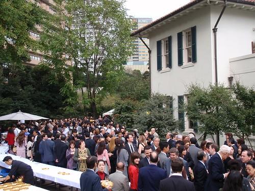 Fiesta en casa del embajador