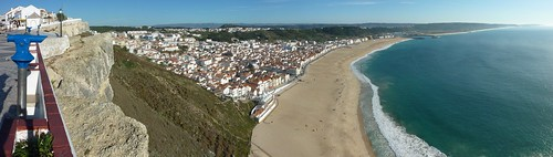 Nazare from above