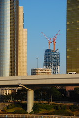 Tokyo Sky Tree Growing Slowly (SkylineGTR) Tags: japan sensoji tokyo architcture  asakusa dsc1611