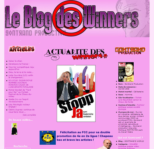 Le Blog des Winners