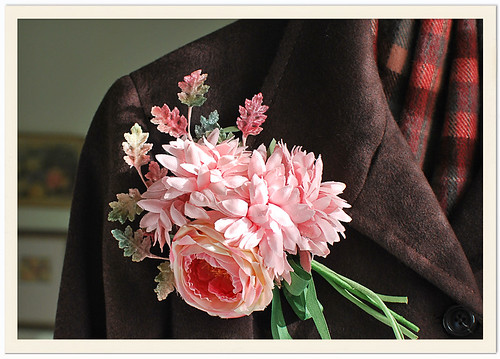 Pink Floral Corsage
