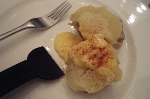 raclette potato with paprika