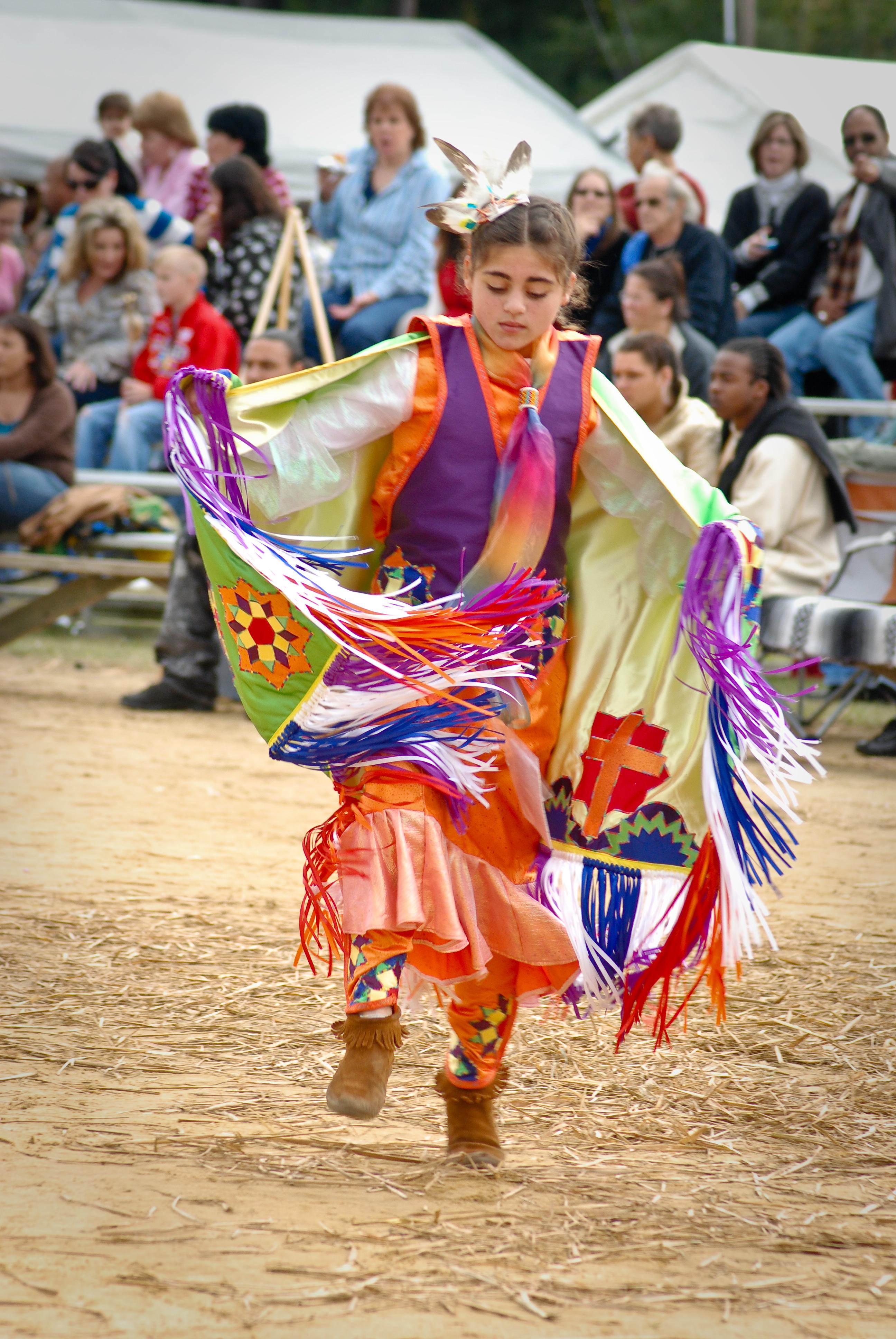 Madison - Native American dancing