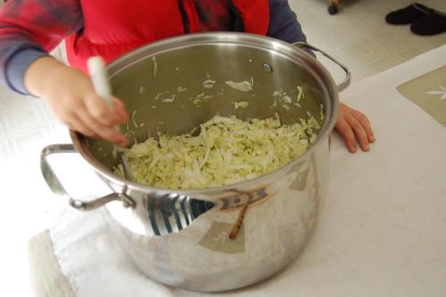 sauerkraut pressing