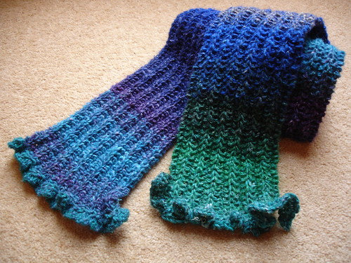 Noro snuggly scarf 001