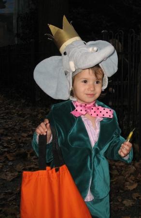 Babar halloween costume