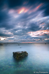 Long Reef Sky (-yury-) Tags: ocean longexposure sea sky water clouds sunrise canon sydney australia filter lee 5d longreef