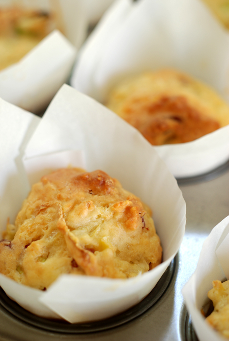 Spicy Salami and Potato Muffins© by Haalo