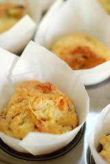 spicy salami and potato mini muffins© by Haalo