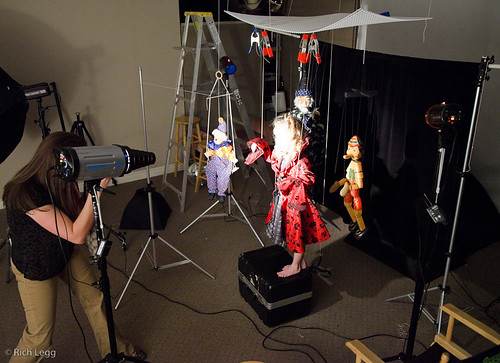 Marionette Behind the Scenes