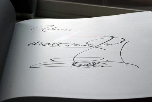 Thomas Keller Autograph