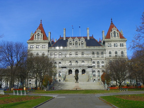 New York Statehouse