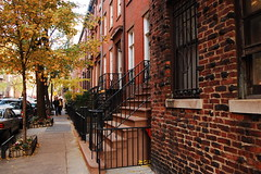 GREENWICH VILLAGE NEW YORK NEW YORK CITY MANHATTAN BUILDING architecture 1850's BARROW STREET GROVE STREET (moonman82) Tags: street city nyc newyorkcity urban house newyork streets building home nature architecture composition photography design town photo construction habit photos manhattan character content structure architectural formation architect frame type designs form essence build 1850s contents greenwichvillage physique temper habitus disposition grovestreet vitality temperament barrowstreet newyorkcitybuilding newyorkcitybuildings townnewyork newyorkin1850s aphotographofarchitecturalbuildingsinnyc